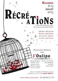 recreations bourges oulipo