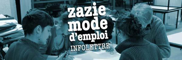 newsletter zazie mode d'emploi